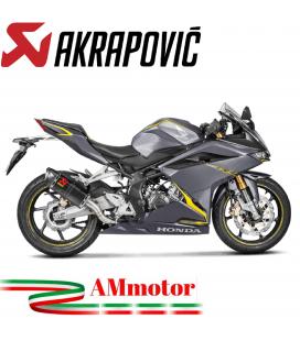 Akrapovic Honda Cbr 250 RR Terminale Di Scarico Slip-On Line Carbonio Moto
