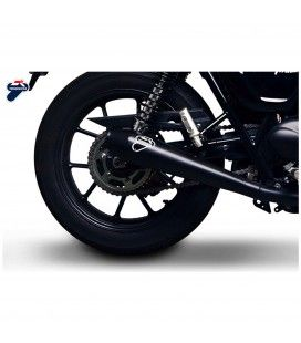 Scarico Completo Termignoni Triumph Street Twin 900 Terminale Conico Full Inox Black Moto