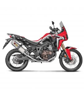 Honda Crf 1000L Africa Twin Adv Sports Collettori Di Scarico Akrapovic Tubo Elimina Kat Inox Moto