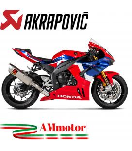 Akrapovic Honda Cbr 1000 RR-R Terminale Di Scarico Slip-On Line Titanio Moto