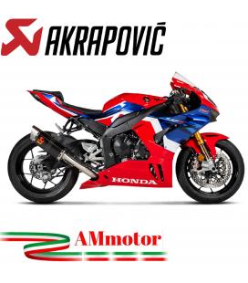 Akrapovic Honda Cbr 1000 RR-R Terminale Di Scarico Slip-On Line Carbonio Moto