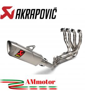 Akrapovic Honda Cbr 1000 RR-R Impianto Di Scarico Completo Evolution Line Terminale Collettori Titanio Moto