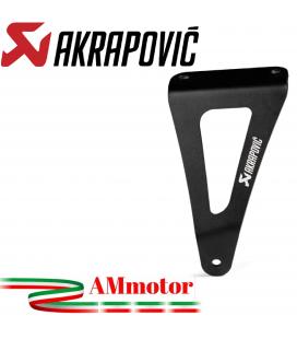 Staffa Akrapovic In Alluminio Per Honda Cbr 1000 RR-R Scarico Slip-On Line Elimina Pedana