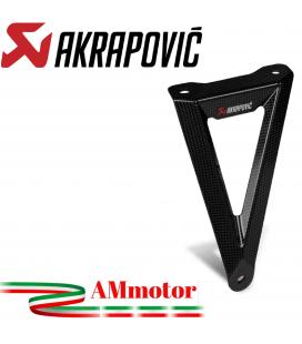 Staffa Akrapovic In Carbonio Per Honda Cbr 1000 RR-R Scarico Slip-On Line Elimina Pedana