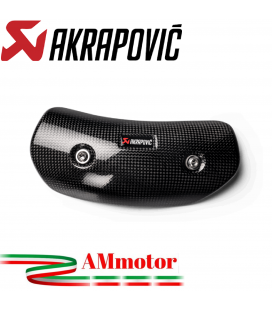 Paracalore Akrapovic In Fibra Di Carbonio Per Scarico Honda Cbr 1000 RR-R Moto