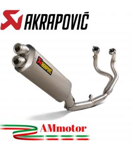 Akrapovic Honda Crf 1100L Africa Twin Impianto Di Scarico Completo Racing Line Terminale Titanio Moto