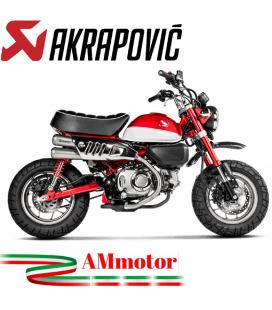 Akrapovic Honda Monkey 125 Terminale Di Scarico Slip-On Line Titanio Moto