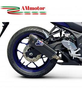 Terminale Di Scarico Termignoni Yamaha Yzf R3 Marmitta Force Carbonio Moto Racing