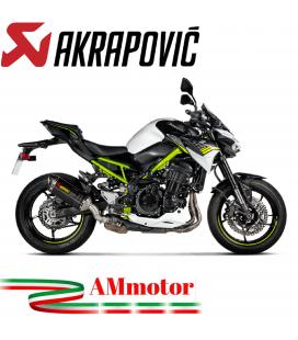 Akrapovic Kawasaki Z 900 17 - 2019 Terminale Di Scarico Slip-On Line Carbonio Moto Omologato