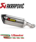 Akrapovic Kawasaki Z 900 20 - 2021 Terminale Di Scarico Slip-On Line Titanio Moto Omologato