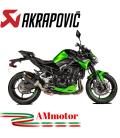 Akrapovic Kawasaki Z 900 20 - 2021 Terminale Di Scarico Slip-On Line Carbonio Moto Omologato
