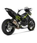 Akrapovic Kawasaki Z 900 A2 Terminale Di Scarico Slip-On Line Titanio Moto Omologato