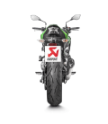 Akrapovic Kawasaki Z 900 A2 Terminale Di Scarico Slip-On Line Titanio Moto