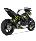 Akrapovic Kawasaki Z 900 A2 Terminale Di Scarico Slip-On Line Carbonio Moto Omologato