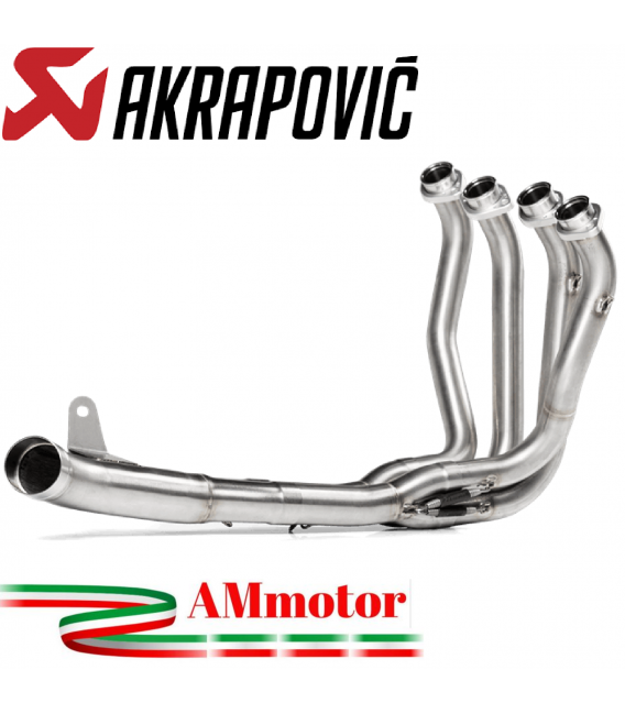 Kawasaki Z 900 A2 20 - 2021 Collettori Di Scarico Akrapovic Tubo Elimina Kat Inox Catalizzatore Moto