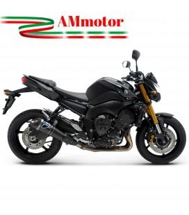 Terminale Di Scarico Termignoni Yamaha Fz8 Marmitta Conica Carbonio Moto Omologato