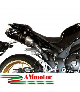 Scarico Completo Termignoni Yamaha Yzf R1 Terminale Ovale Carbonio Moto Racing