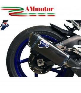 Terminale Di Scarico Termignoni Yamaha Yzf R1 Marmitta Force Carbonio Moto Omologato