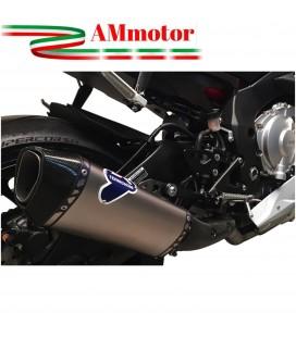Terminale Di Scarico Termignoni Yamaha Yzf R1 Marmitta Force Titanio Moto Omologato