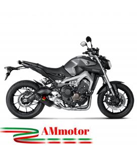 Akrapovic Yamaha Mt-09 Impianto Di Scarico Completo Racing Line Terminale Carbonio Moto