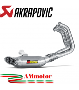 Akrapovic Yamaha Mt-09 Impianto Di Scarico Completo Racing Line Terminale Inox Moto