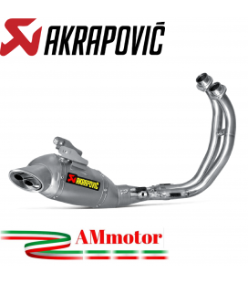 Akrapovic Yamaha Mt-07 Impianto Di Scarico Completo Racing Line Terminale Inox Moto