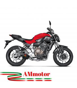 Akrapovic Yamaha Mt-07 Impianto Di Scarico Completo Racing Line Terminale Carbonio Moto