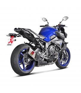 Akrapovic Yamaha Mt-10 Terminale Di Scarico Slip-On Titanio Moto Omologato