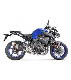 Akrapovic Yamaha Mt-10 Tubo Elimina Kat Catalizzatore Moto Collettore Scarico Titanio