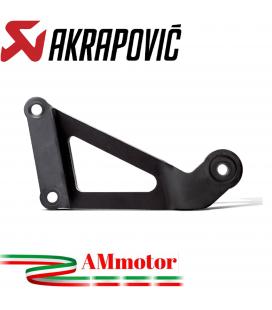 Staffa Akrapovic Yamaha Mt-03 Elimina Pedana Supporto Silenziatore In Acciaio Inossidabile Nero