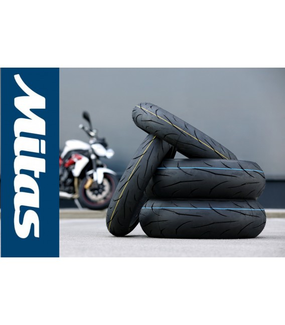 Mitas Sport Force Plus 120 70 + 190 50 zr 17 Coppia Pneumatici Moto