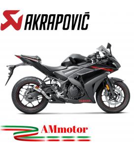 Akrapovic Yamaha Yzf R25 Terminale Di Scarico Slip-On Inox Moto Racing