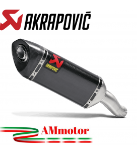 Akrapovic Yamaha Yzf R25 Terminale Di Scarico Slip-On Carbonio Moto Omologato