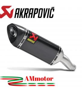 Akrapovic Yamaha Yzf R3 Terminale Di Scarico Slip-On Carbonio Moto Omologato