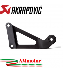 Staffa Akrapovic Yamaha Yzf R3 Elimina Pedana Supporto Silenziatore In Acciaio Inossidabile Nero