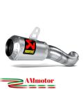 Akrapovic Yamaha Yzf R3 Terminale Di Scarico Slip-On Inox Moto Racing
