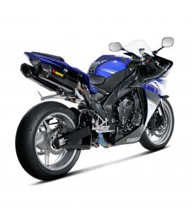 Akrapovic Yamaha Yzf R1 09 2014 Impianto Di Scarico Completo Evolution Line Terminali Carbonio Moto
