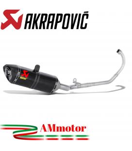 Akrapovic Honda Cbr 125 R Impianto Di Scarico Completo Racing Line Terminale Carbonio Moto
