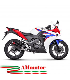 Akrapovic Honda Cbr 150 R Impianto Di Scarico Completo Racing Line Terminale Carbonio Moto