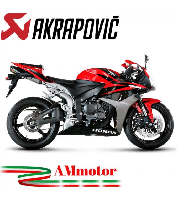 Akrapovic Honda Cbr 600 RR 07 2008 Terminale Di Scarico Slip-On Line Titanio Moto Omologato