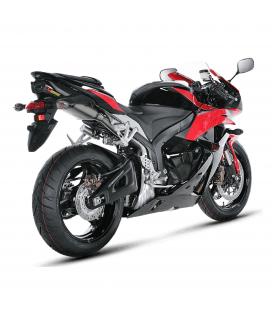 Akrapovic Honda Cbr 600 RR 09 2012 Terminale Di Scarico Slip-On Line Titanio Moto Omologato