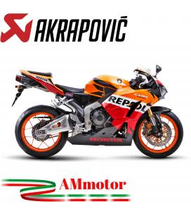 Akrapovic Honda Cbr 600 RR 13 2016 Terminale Di Scarico Slip-On Line Titanio Moto Omologato