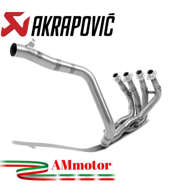 Honda Cbr 600 RR Collettori Di Scarico Akrapovic Tubo Elimina Kat Inox Catalizzatore Moto