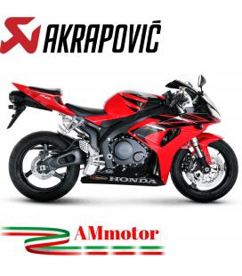 Akrapovic Honda Cbr 1000 RR 06 2007 Terminale Di Scarico Slip-On Line Carbonio Moto Omologato