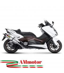 Akrapovic Yamaha T-Max 530 Impianto Di Scarico Completo Racing Line Terminale Titanio Moto Scooter