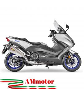 Akrapovic Yamaha T-Max 530 17 2019 Impianto Di Scarico Completo Racing Line Terminale Titanio Moto Scooter