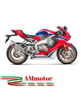 Akrapovic Honda Cbr 1000 RR Impianto Di Scarico Completo Racing Line Terminale Titanio Moto