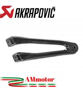 Staffa Akrapovic In Carbonio Per Honda Cbr 1000 RR Scarico Slip-On Line Elimina Pedana