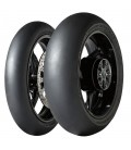 Gp Racer D212 Slick 120/70 + 200/55ZR17 Coppia Pneumatici In Mescola