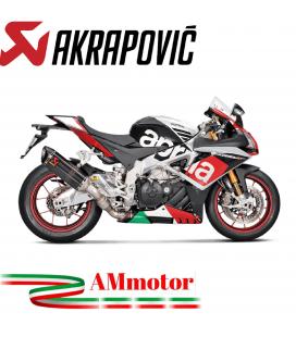 Akrapovic Aprilia Rsv 4 15 2016 Terminale Di Scarico Slip-On Line Carbonio Moto Omologato
